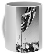 Upraised Flag Support Mlk Day March Tucson Arizona 1991 Coffee Mug