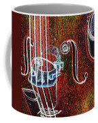 Upright Bass Close Up Coffee Mug