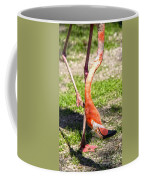 Upside Down Flamingo Coffee Mug