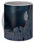 Upside Down White House At Night Coffee Mug