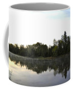 Upstream And Across The Mississippi River Coffee Mug