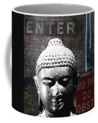 Urban Buddha 4- Art By Linda Woods Coffee Mug