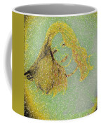 Urban Street Art Sketch Girl Coffee Mug