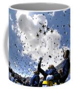 U.s. Air Force Academy Graduates Throw Coffee Mug by Stocktrek Images