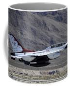 U.s. Air Force Thunderbird F-16 Coffee Mug