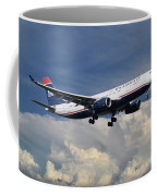 Us Airways A330-200 N280ay Coffee Mug