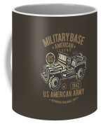 Us American Amry Jeep Coffee Mug
