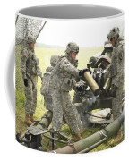 U.s. Army Soldier Throws A Spent 105mm Coffee Mug