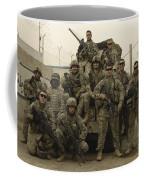 U.s. Army Soldiers Pose For A Photo Coffee Mug