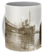 U.s. Army Transport Uss Mount Vernon 1917-1919 Coffee Mug