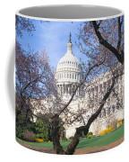 Us Capitol Building And Cherry Coffee Mug