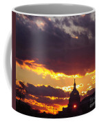 U.s. Capitol Dome At Sunset Coffee Mug