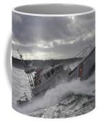 U.s. Coast Guard Motor Life Boat Brakes Coffee Mug by Stocktrek Images