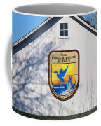 Us Fish And Wildlife Service Sign  3931 Coffee Mug