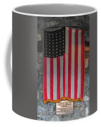 Us Flag At Whiteface Mountain Ny Coffee Mug