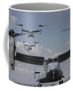 U.s. Marine Corps Mv-22 Osprey Coffee Mug