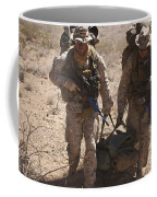U.s. Marines Prepare To Board A Uh-60 Coffee Mug