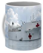 U.s. Naval Hospital Ship Usns Mercy Coffee Mug