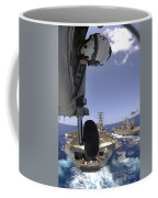 U.s. Navy Petty Officer Leans Coffee Mug