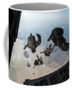 U.s. Pararescuemen And U.s. Marines Coffee Mug