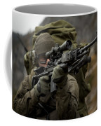 U.s. Special Forces Soldier Armed Coffee Mug