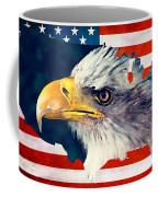 Usa Flag Eagle Coffee Mug
