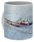 Uscg Healy Breaks Ice Coffee Mug