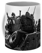 Usmc On The Move In A Lav-25 Coffee Mug