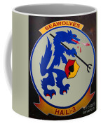 Usn Seawolves Logo Coffee Mug