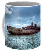 Usns American Mariner - Target Ship, Chesapeake Bay, Maryland Coffee Mug