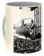 Uss Nautilus Slips Into The Thames Coffee Mug