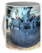 Uss North Carolina, Bb 55, 40mm Guns Coffee Mug