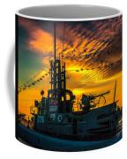 U.s.s. Silversides Sunset Coffee Mug