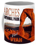 Utah, Arches, National Park Coffee Mug
