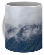 Ute Pass As Storm Clouds And Fog Roll In  Coffee Mug