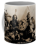 Ute Tribe In Council Coffee Mug
