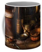 Utensils - Colonial Utensils Coffee Mug by Mike Savad