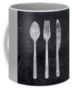 Utensils- Art By Linda Woods Coffee Mug by Linda Woods