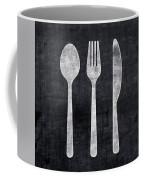 Utensils- Art By Linda Woods Coffee Mug