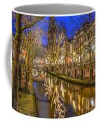 Utrecht Old Canal By Night Coffee Mug