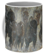 Uttc Buffalo Mural Center Panel Coffee Mug