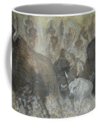 Uttc - Buffalo Mural Left Panel Coffee Mug