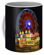 Vacant Carnival Bench Coffee Mug by James BO  Insogna