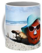 Vacationing Jack-o-lantern Coffee Mug