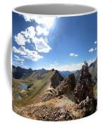 Valecito And Chicago Basins From Mt Jupiter - Weminuche Wilderness - Colorado Coffee Mug