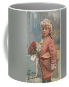 Valentine In The Victorian Era Coffee Mug