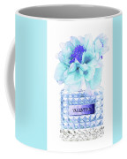 Valentino Blue Perfume Coffee Mug
