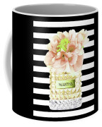 Valentino Perfume With Flower Coffee Mug