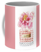 Valentino Pink With Peony Coffee Mug