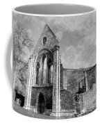 Valle Crucis Abbey Monochrome Coffee Mug